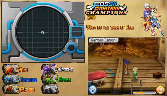 Watch and share Fossil Fighters Champions (DS) Part 10 (BB Brigade Commander Cole) GIFs on Gfycat