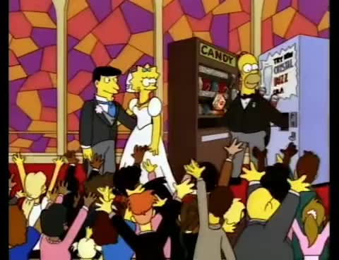 Watch and share Homer Stuck In Vending Machine GIFs on Gfycat