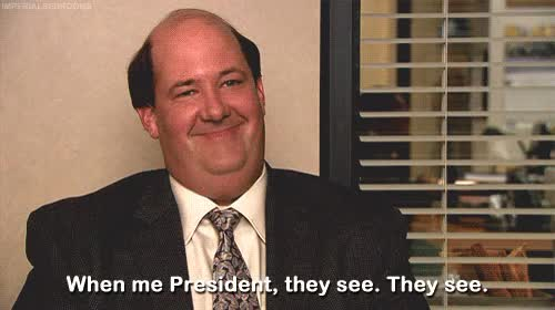 Watch The offuce The offuce nbc the office,kevin malone,the office President President (reddit) GIF by @perks on Gfycat. Discover more Brian Baumgartner GIFs on Gfycat