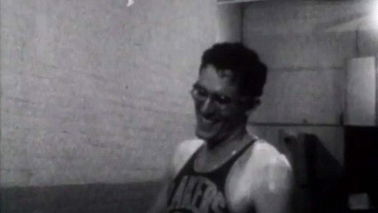 George Mikan, Minneapolis Lakers -NT GIFs
