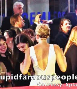 bandathebillie:  Lorde spanking Jennifer Lawrence's butt at... GIFs