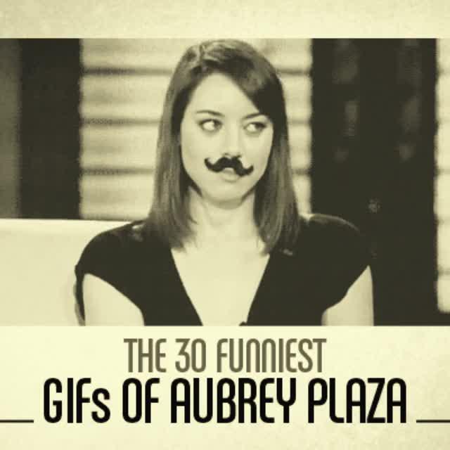 Watch and share Aubrey Plaza GIFs on Gfycat