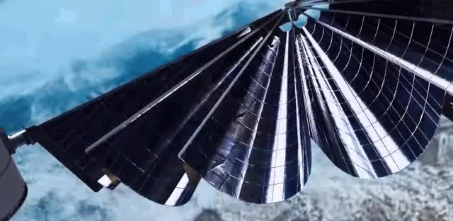 Watch unfurl solar elec prop GIF on Gfycat. Discover more related GIFs on Gfycat