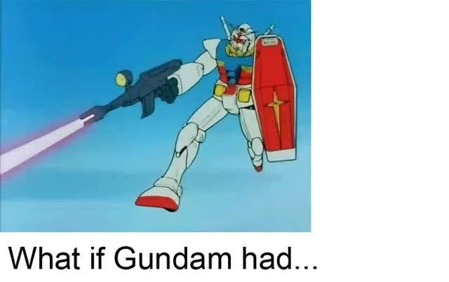 Watch the possibilities of gundam GIF on Gfycat. Discover more related GIFs on Gfycat