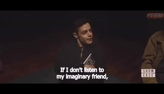 Watch Mr Robot [Rami Malek] vs Religions and God  #mgtow #redpill subtitled GIF on Gfycat. Discover more related GIFs on Gfycat