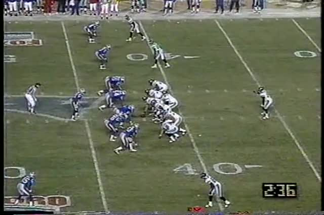 Watch and share 1996 AFC Championship - Jaguars @ Patriots GIFs by casimir_iii on Gfycat