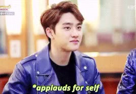 Watch and share Exo Do Kyungsoo GIFs and Credit To Owner GIFs on Gfycat