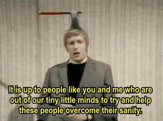Watch and share Monty Python Wink Wink Nudge Nudge GIFs on Gfycat