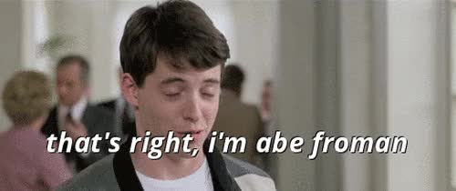 Watch and share Abe Froman GIFs on Gfycat