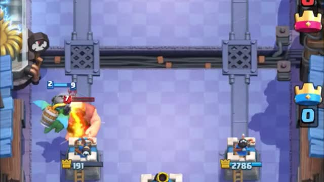 Watch and share Lumberjack Counter Push After Defend GIFs by Clash Royale Kingdom on Gfycat