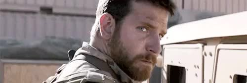 Watch and share American Sniper GIFs and Bradley Cooper GIFs on Gfycat