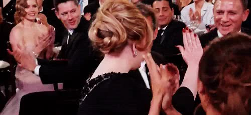 Watch this adele GIF on Gfycat. Discover more adele, celebrities, daniel craig GIFs on Gfycat