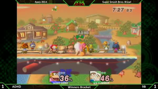 Watch To celebrate SSBB's 7th birthday, here is 9b's legendary SOPO kill on ADHD at Apex 2013 (reddit) GIF on Gfycat. Discover more smashbros, ssbb GIFs on Gfycat