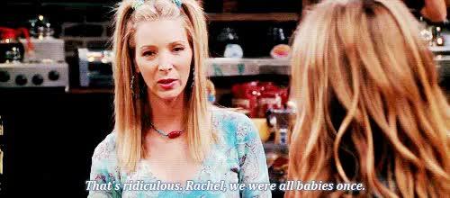 Watch and share Phoebe Buffay GIFs and Rachel Green GIFs on Gfycat