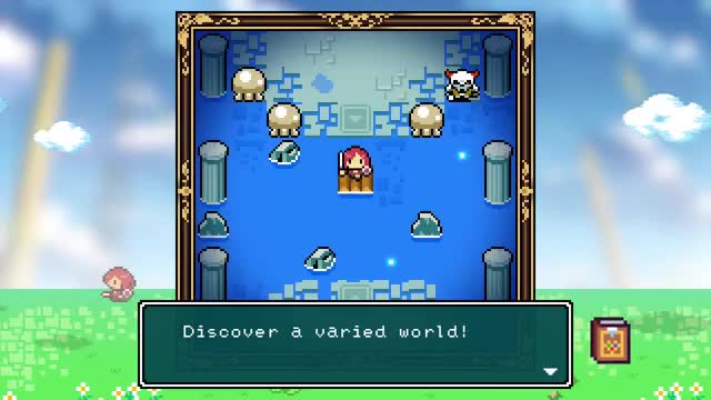 Watch and share Fairune Collection GIFs and Nintendo Switch GIFs on Gfycat