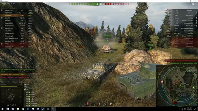 Watch and share T30 Fires Straight Through Ferdinand (reddit) GIFs on Gfycat