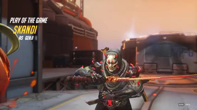 Watch Oddly satisfying GIF on Gfycat. Discover more genji, need healing, overwatch GIFs on Gfycat