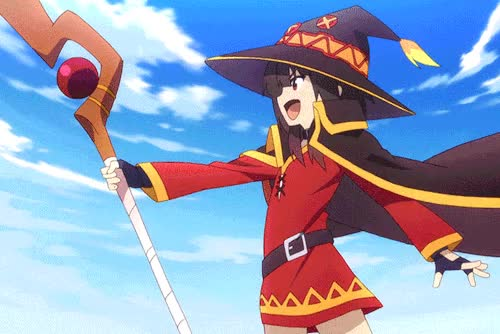Watch and share Konosuba GIFs and Megumin GIFs by iSaith on Gfycat