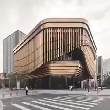 Watch and share Playful Facade At Bund Finance Center In Shanghai GIFs by Jackson3OH3 on Gfycat
