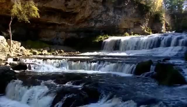 Watch and share 2 HOURS Dropping Waterfalls How To Relax Meditate Sleep Cascada De Agua Meditar Dormir Relajare GIFs on Gfycat