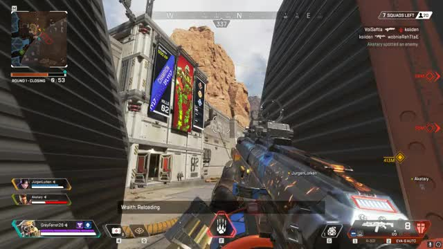 Watch and share Apex Legends GIFs and Highlight GIFs by GreyFerret on Gfycat