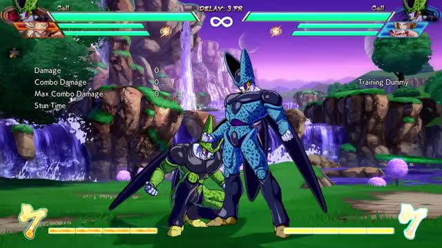 Watch and share DBFZ Block String Ender OS Confirm Special Cancel Example GIFs on Gfycat
