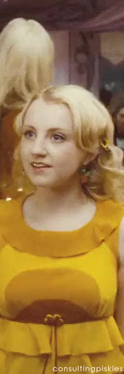 Watch and share Luna Lovegood GIFs and My Stuff GIFs on Gfycat