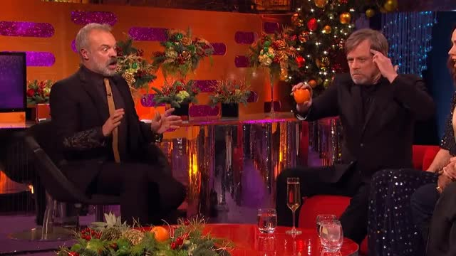 Watch and share Graham Norton GIFs and Mark Hamill GIFs on Gfycat