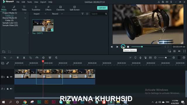 Watch and share Filmora 9how To Zoom Pan With Crop Tips GIFs by rizwana39340 on Gfycat