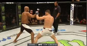 Watch and share Bisping Cross Step Up Kick Hand Control GIFs on Gfycat
