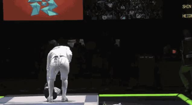 Watch and share Fencing GIFs on Gfycat