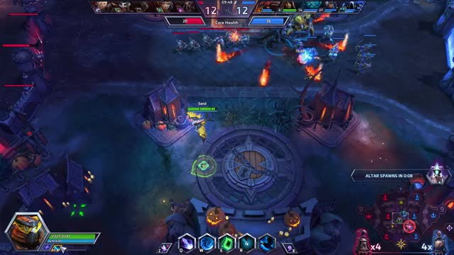 Watch and share Heroes Of The Storm 2018.04.21 - 00.23.52.09.DVR Medivh Shield All Kill GIFs on Gfycat
