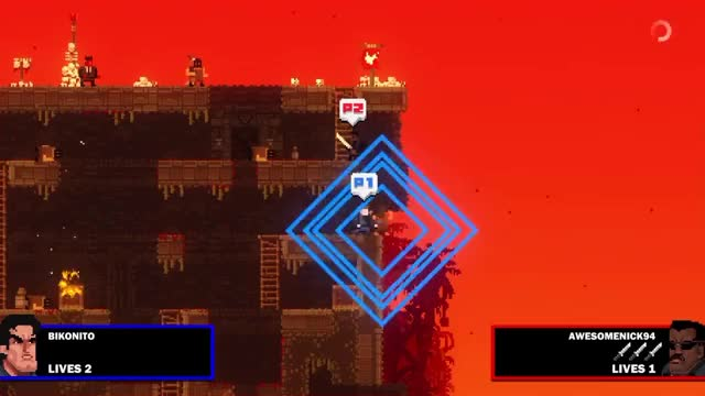 Watch Bloodlust GIF by @awesomenick94 on Gfycat. Discover more broforce, funny, ps4share GIFs on Gfycat