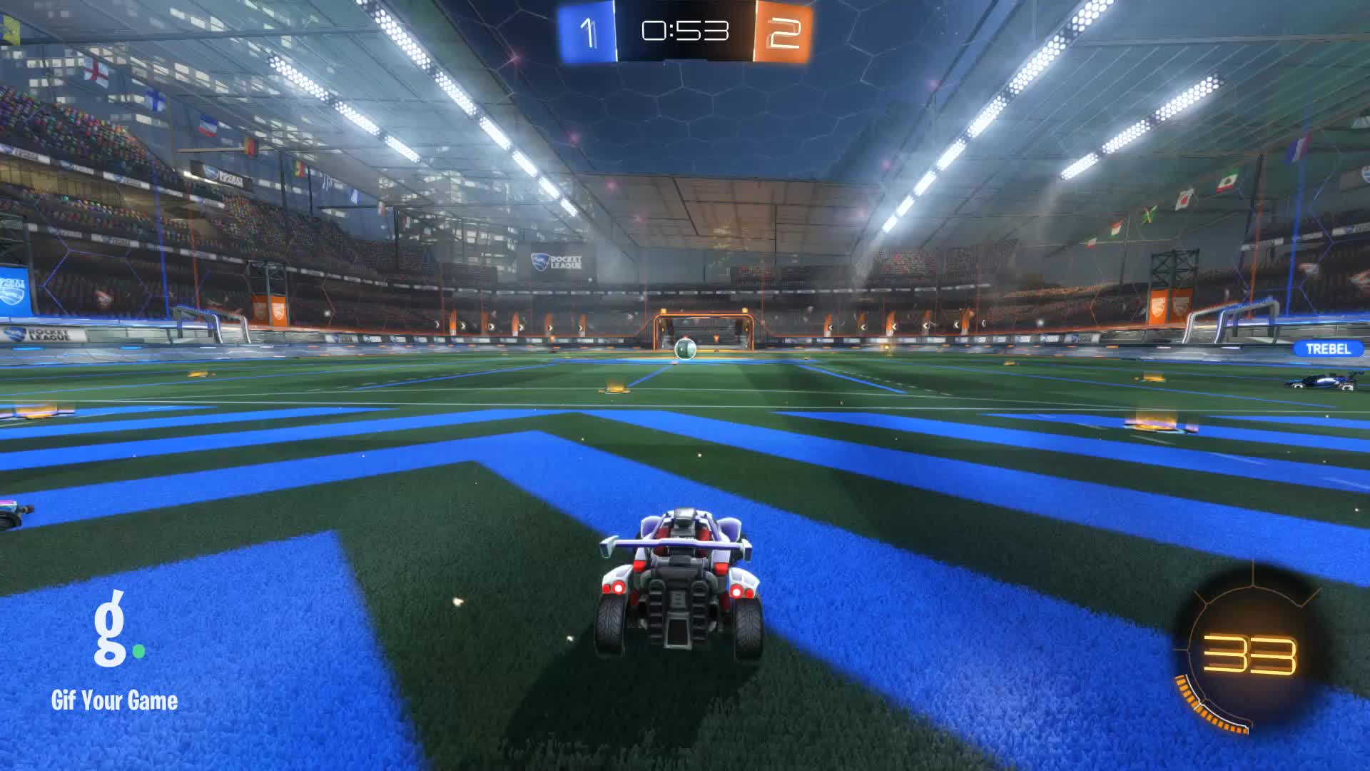 Gif Your Game, GifYourGame, Goal, Paps, Rocket League, RocketLeague, Goal 4: Paps GIFs