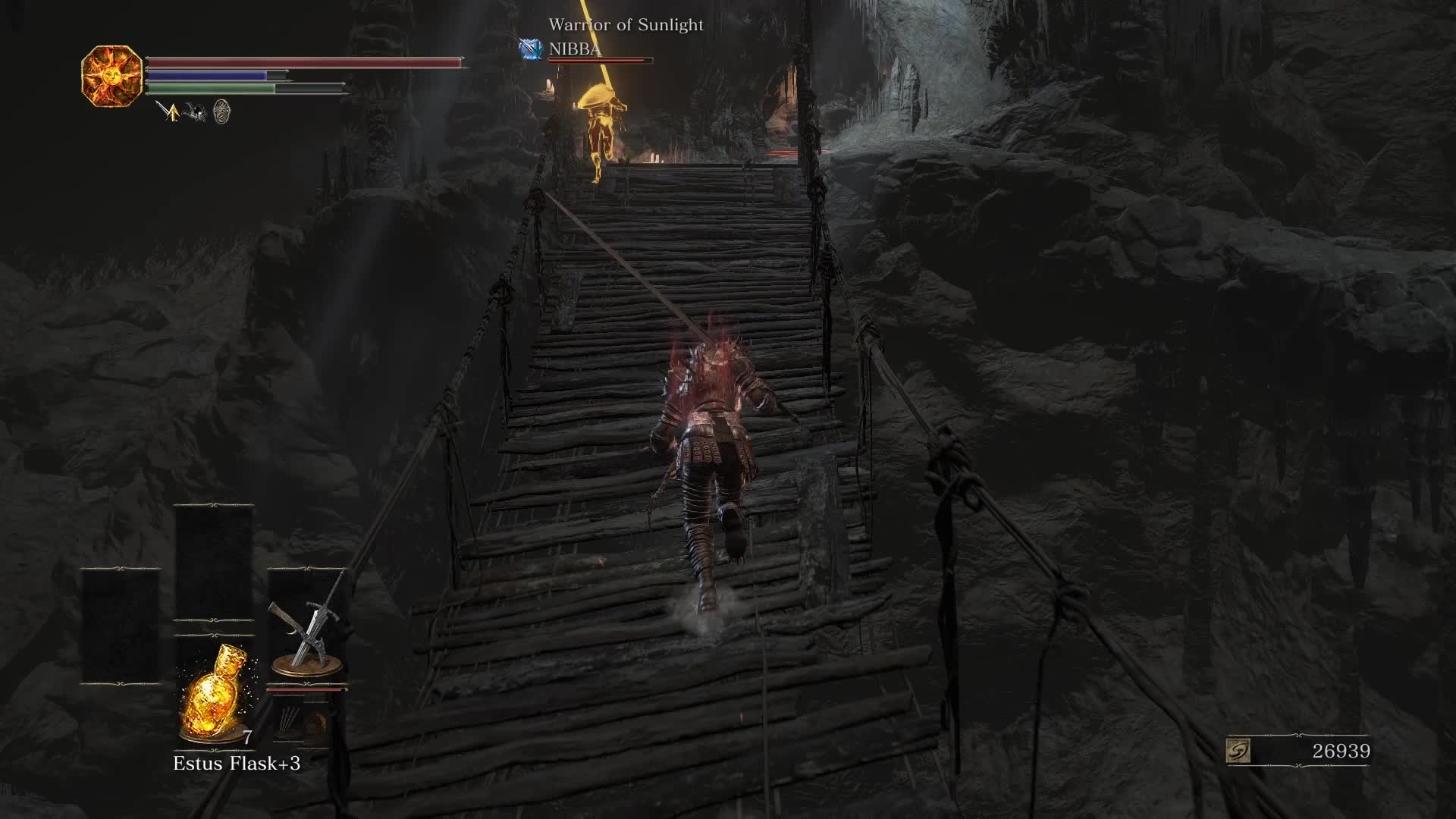 dark souls, dark souls 3, ds3, funny, iii, faulty bridge GIFs