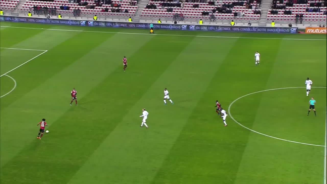 nice toulouse, ogc nice toulouse fc, ogcn tfc, OGC Nice - Toulouse FC (3-0)  - Résumé - (OGCN - TFC) / 2016-17 GIFs