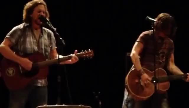 Watch Society GIF on Gfycat. Discover more Eddie Vedder, Johnny Depp GIFs on Gfycat