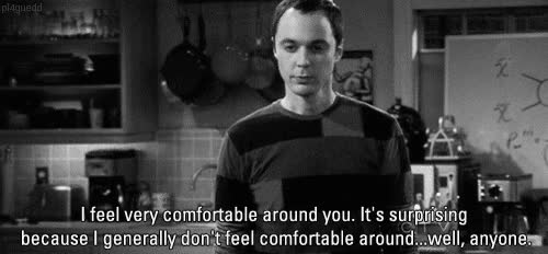 Watch and share Jim Parsons GIFs and Flirting GIFs by Reactions on Gfycat