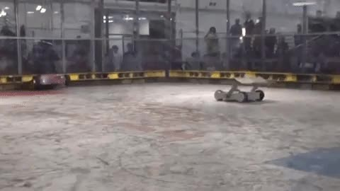 Watch and share Combat Robot's Victory Backflip-Spin GIFs on Gfycat