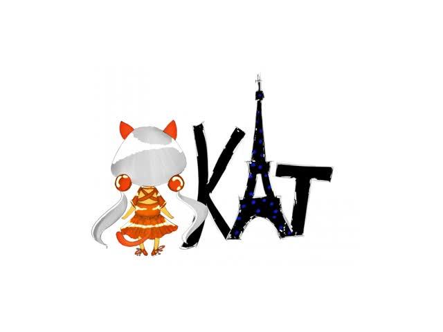 Watch and share KAT - GIF By CYuJinI  Watch Digital Art / Animation GIFs on Gfycat