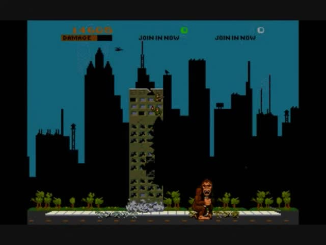 Watch and share MAME: Rampage (Original Arcade Game) GIFs on Gfycat