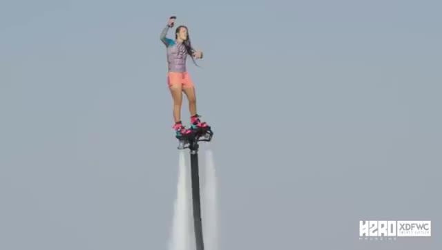 Watch and share Flyboard World Champion Gemma Weston. GIFs on Gfycat