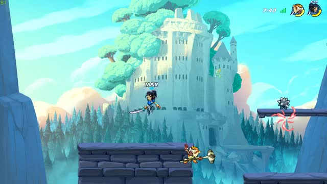 Watch and share Brawlhalla GIFs by maruyj on Gfycat