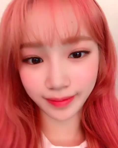 Watch and share Chaewon Stare GIFs by voltixx on Gfycat