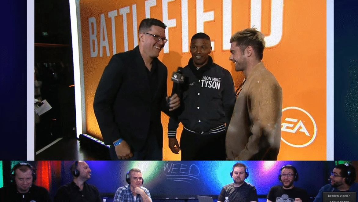 giantbomb, E3 celebrity interviews #CourageAndHemp GIFs