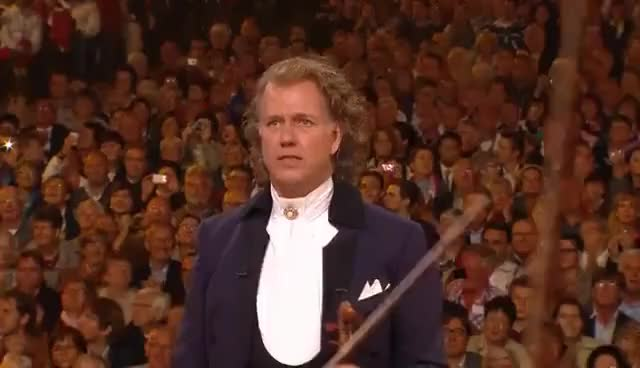 Watch and share André Rieu - O Fortuna (Carmina Burana - Carl Orff) GIFs on Gfycat