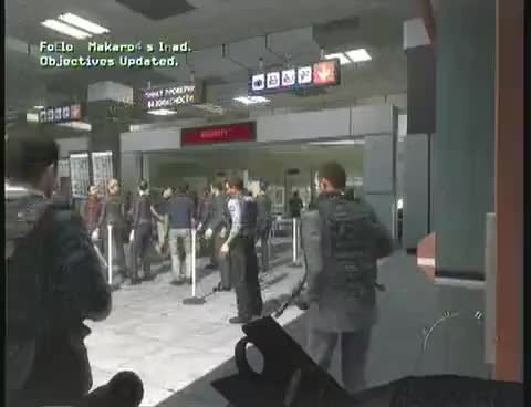 Watch and share Call Of Duty Modern Warfare 2 - No Russian - Airport Mission Uncut - Veteran - High Quality GIFs on Gfycat