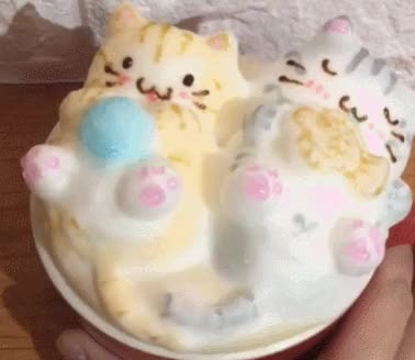 Watch and share Cute 3D Latte Art GIFs on Gfycat