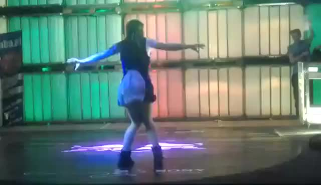 Watch and share 3 Runda 5/8 》Slavic Dancehall Queen 2014 GIFs on Gfycat