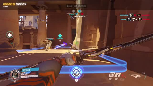 Watch and share Overwatch GIFs and Aimbot GIFs by Randomnoob on Gfycat